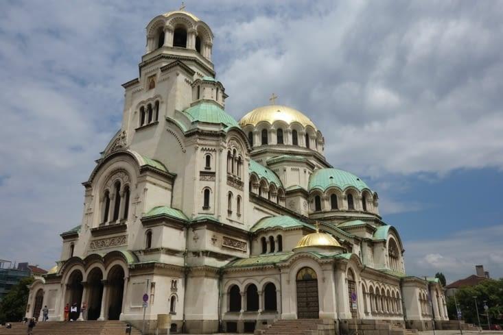 Belle église dorée!