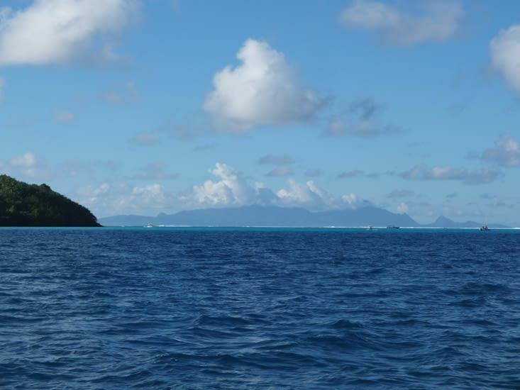 Grand soleil sur Bora Bora