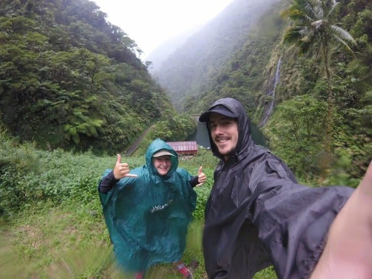 randonnée pluvieuse...