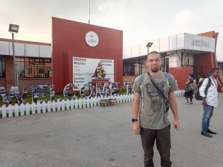 Aéroport de Katmandou, petit et mignon