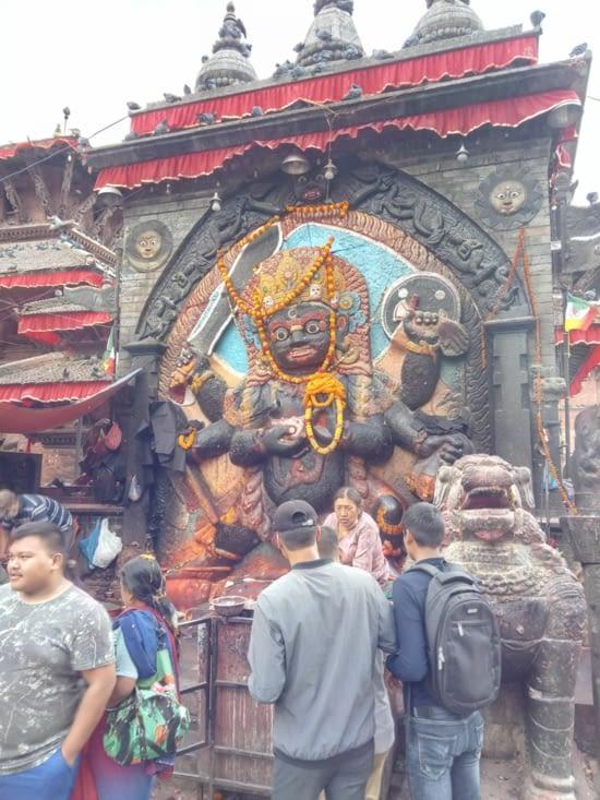 Temple de Khal Bhairav, Durbar Square