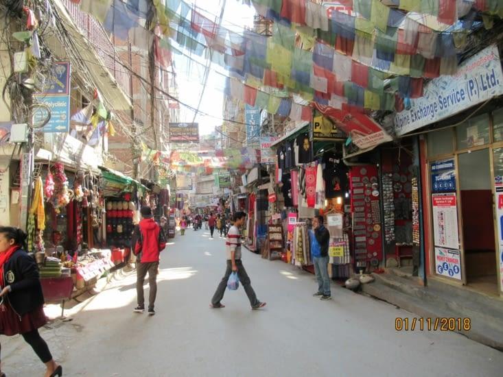 Thamel, le quartier pour les touristes