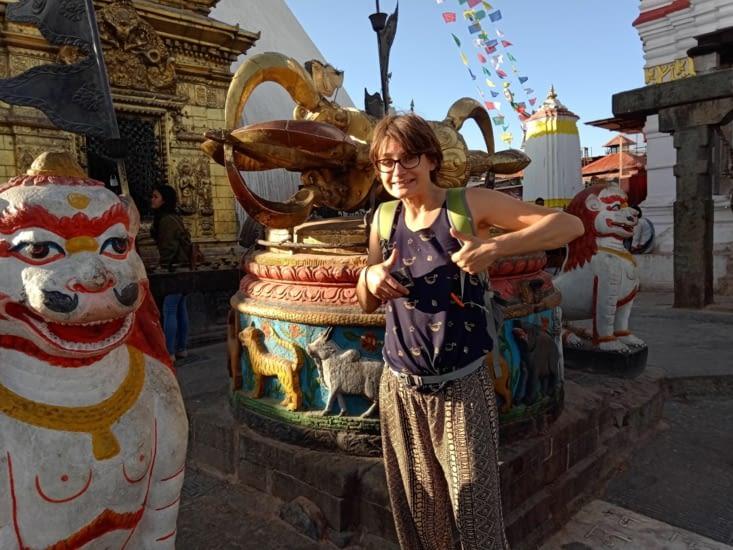 au Stupa Swayambunath