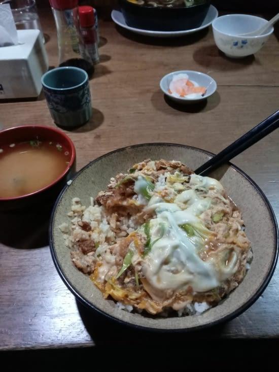 Le fameux Udon de Ben, au resto japonais