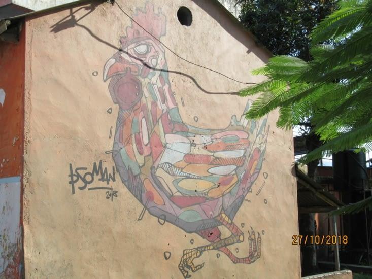 Street Art à Pokhara