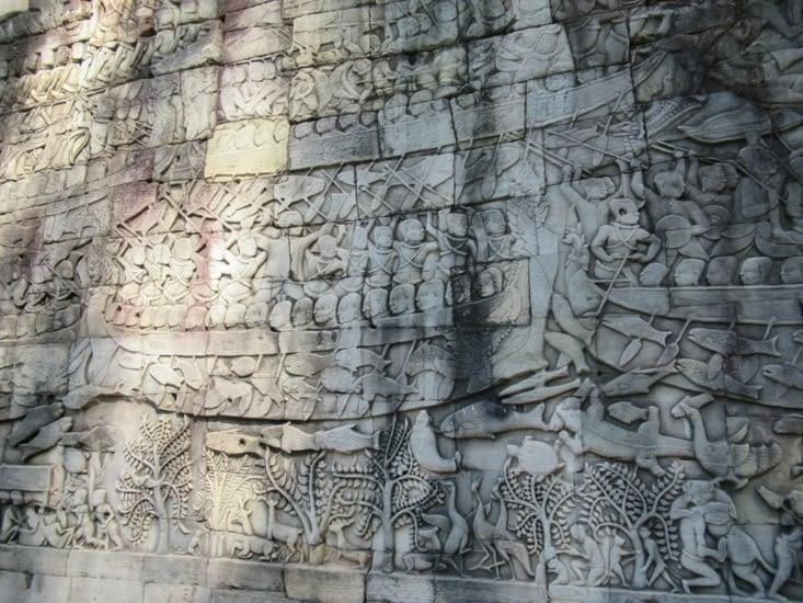 avec là aussi de très belle fresques très bien conservées ou restaurées