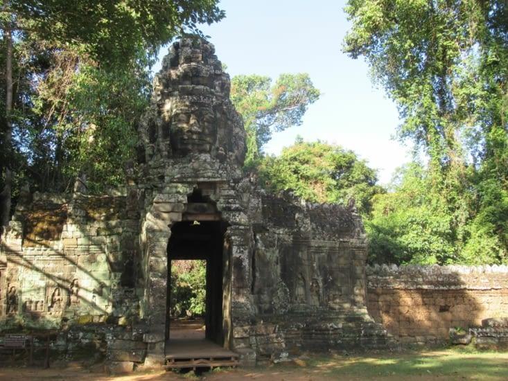 Banteay Kdei - monastère bouddhique de la fin du XII ème siècle