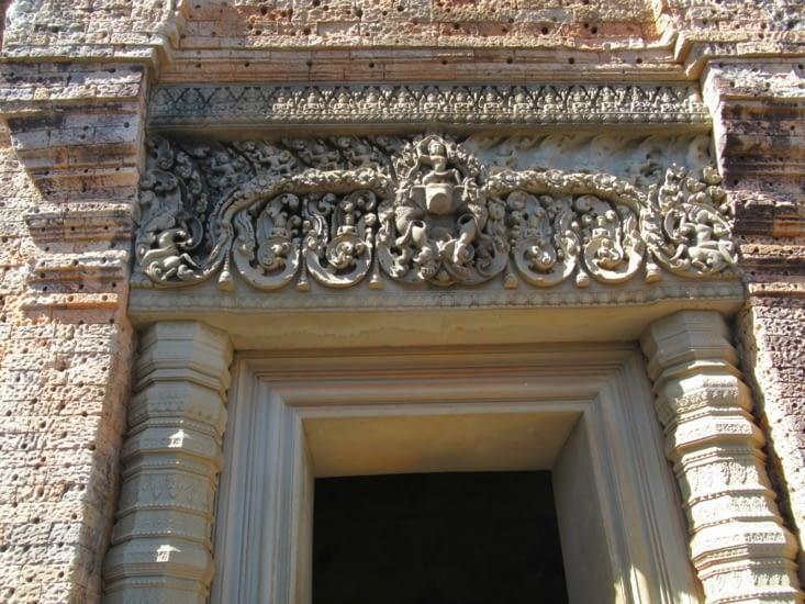 Détail restauré du Mébon oriental