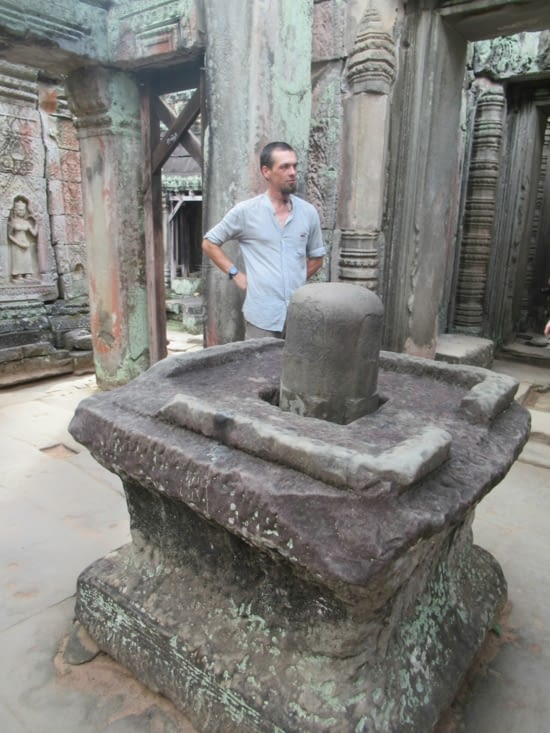 Encore un de ces trucs qu'on a vu dans les temples au Népal...Mais qu'est ce que c'est ???