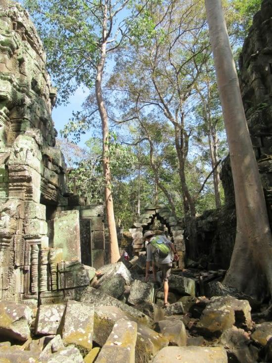 ici, on se sent vraiment comme un aventurier découvrant un temple en ruines