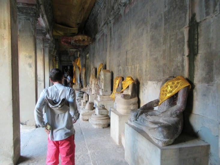 la galerie des mille Bouddhas