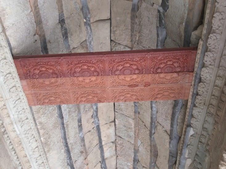 Reconstitution de l'ancien plafond