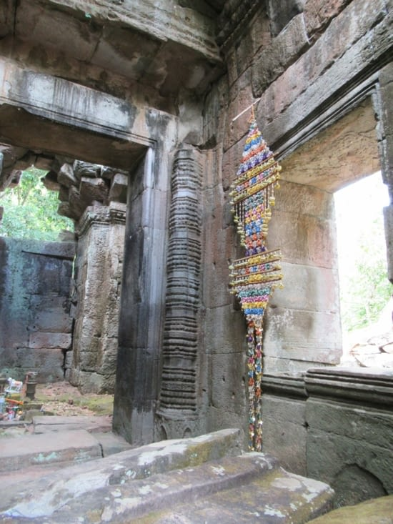 Temple encore utilisé