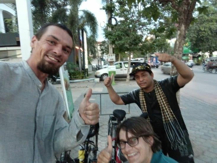 Yes! On a vendu les vélos et fait un heureux, génial !
