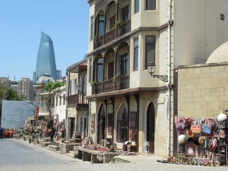 Bakou - les petits balcons
