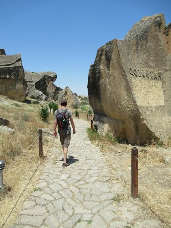 Gobustan - Musée de Petroglyphes à ciel ouvert