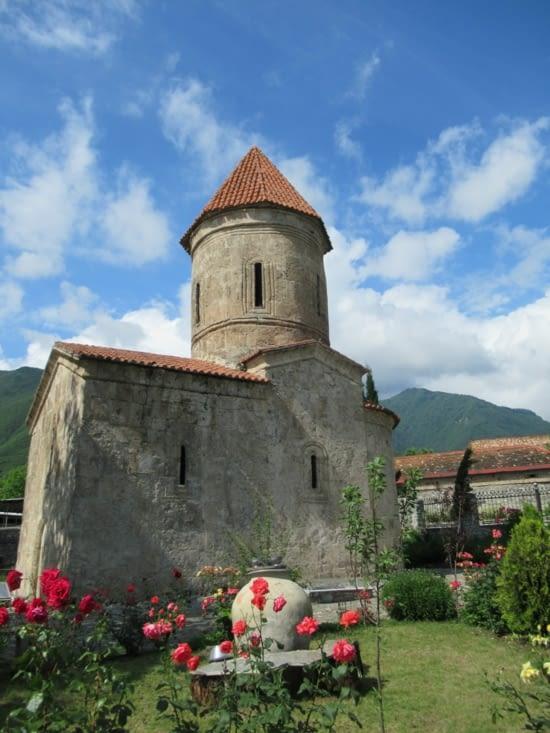 Kish (bourgade à côté de Shaki) - Eglise du XIII