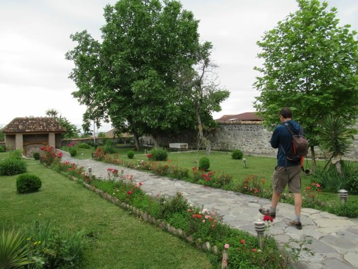 Shaki - Jardin du second palais royal