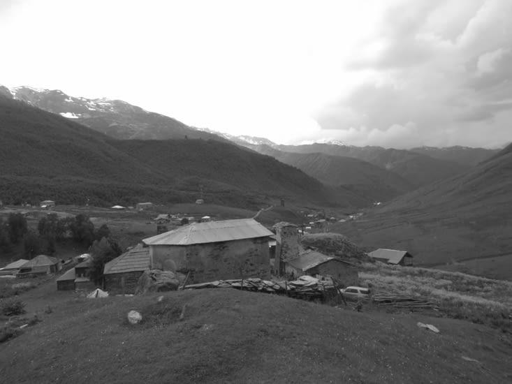 Visite du village, lieu de culte