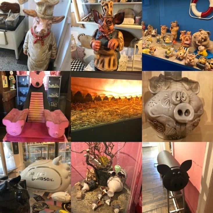 Musée du cochon fin ...