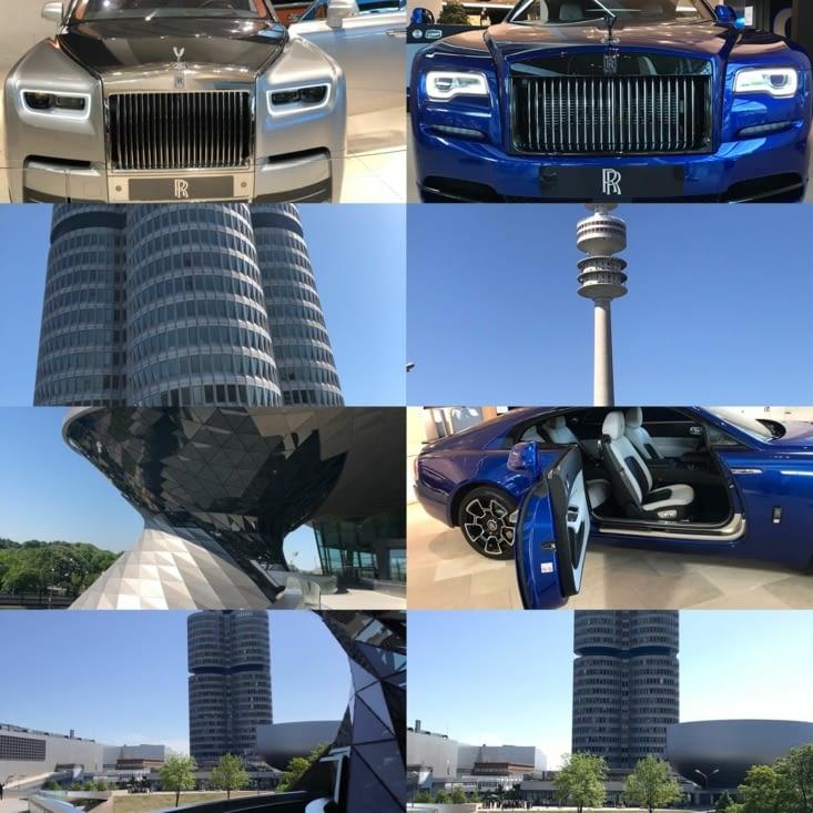 Royce et bâtiment BMW