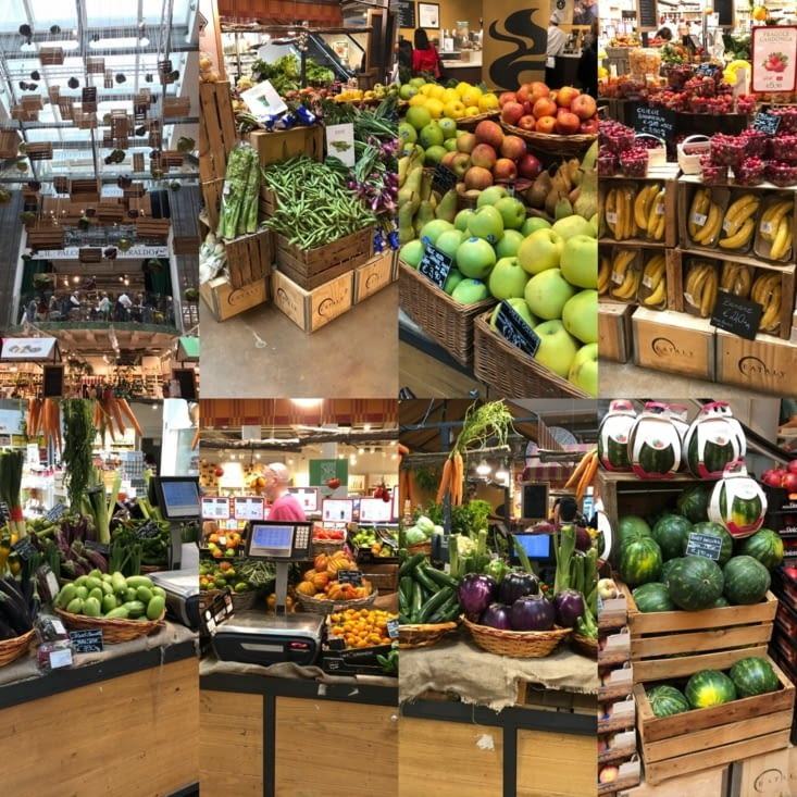 Quelques fruits et légumes
