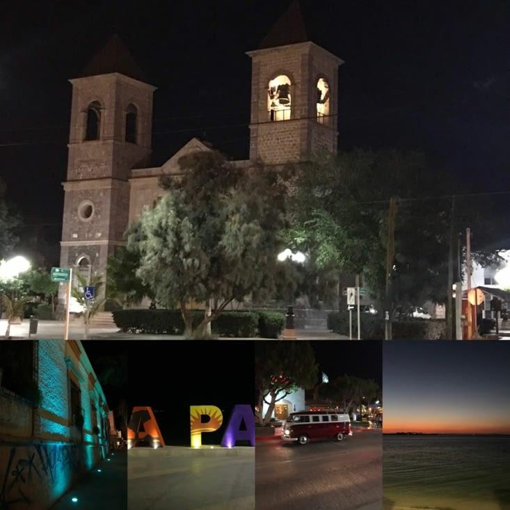 La Paz le soir