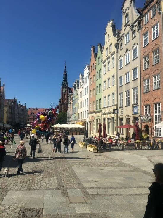 La Dluga : la rue royale!!! (rien que pour nous)