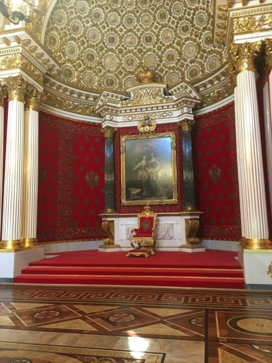 Le fauteuil du Tsar...