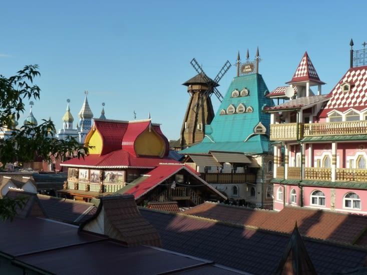 Le marché d'Izmailovsky (Disneyland...)