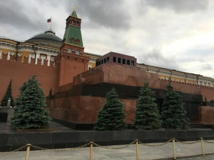 Le mausolée de Lénine!!