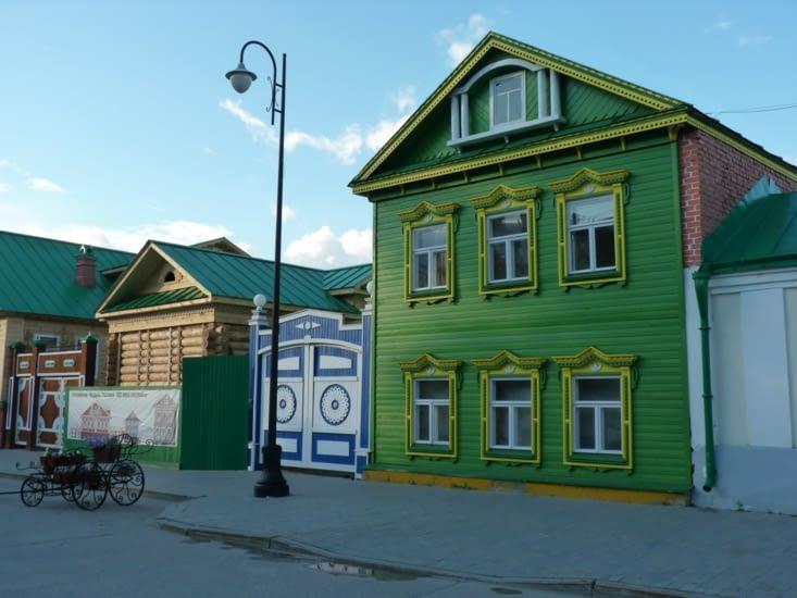 Un maison tatare dans le vieux Kazan...