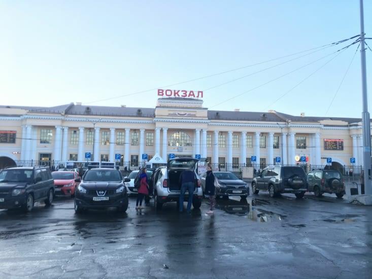 La gare de Iekaterinbourg