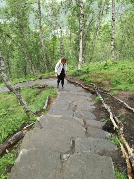 L ascension du Fjellstua