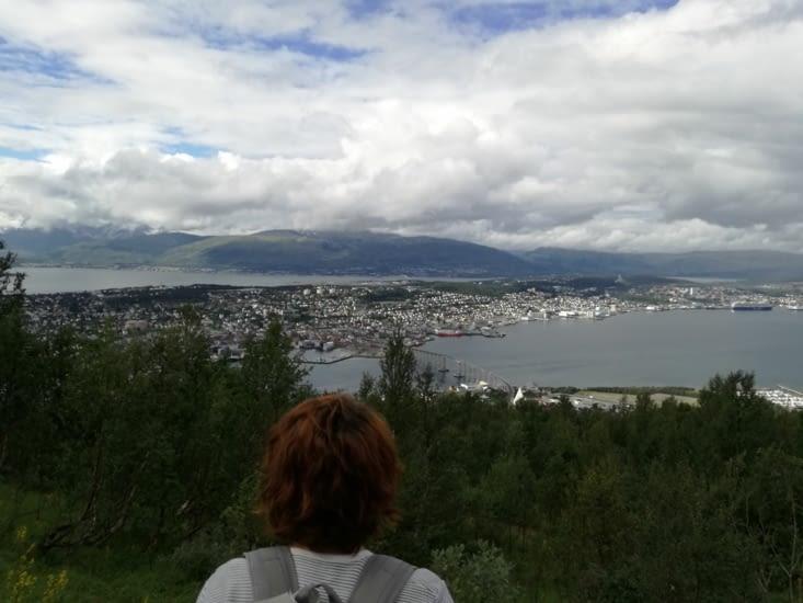 Tromso vu de haut!