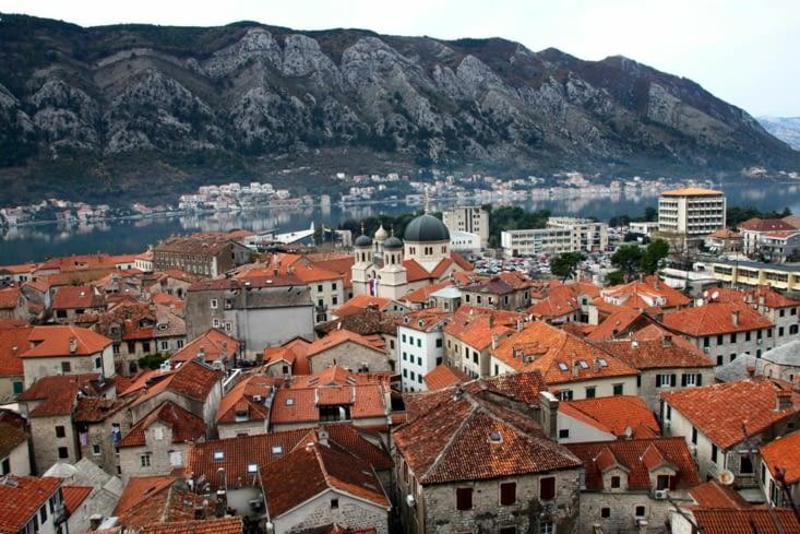 La ville fortifiée de Kotor aurait été construite en labyrinthe pour dissuader l'ennemi.
