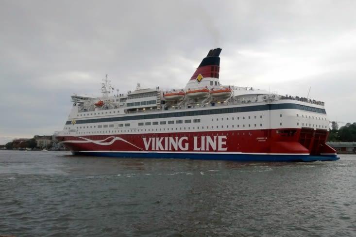 Dernier jour en Scandinavie et nous embarquons sur Viking Line, direction l'Estonie.