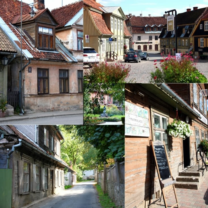 Excursion to Kuldiga, a very beautiful hanseatic town.