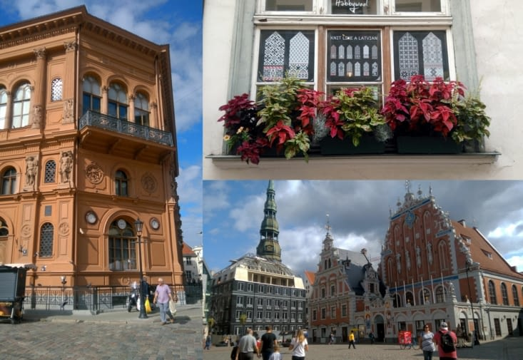 Excursion to the old town of Riga, THE city of art nouveau architecture.
