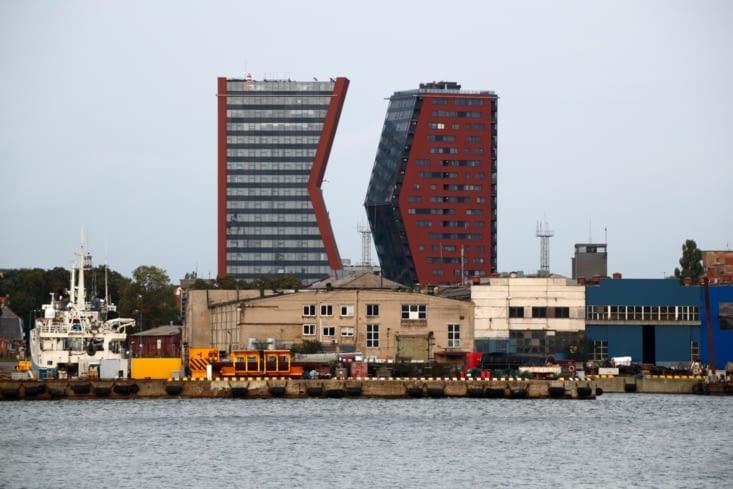 Klaipéda est le principal port de la Lituanie.