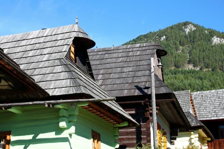Le village de Vlkolinec, classé au patromoine mondial de l'UNESCO.