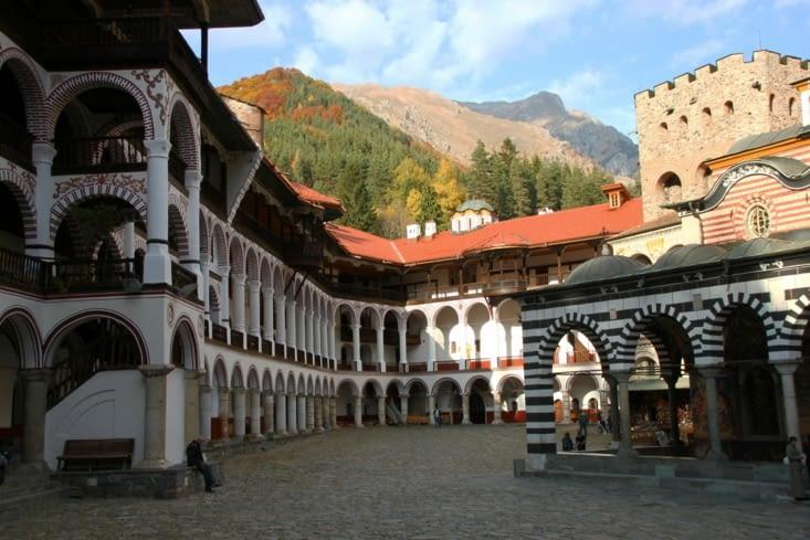 Autre grand classique : le monastère de Rila.