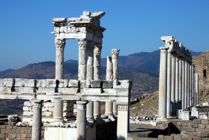 Autre site antique, l'acropole de Bergama.