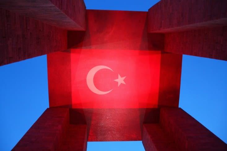 Du côté turc aussi, l'endroit est chargé de mémoire.