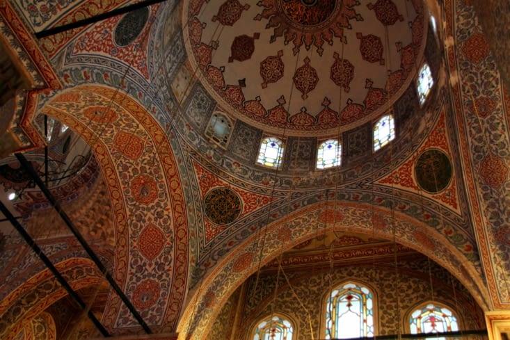 Passage obligé : la mosquée Sultan Ahmet, mieux connue sous le nom de mosquée bleue.