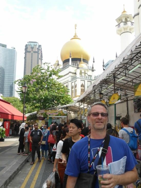 Mosquée du Sultan - Quartier arabe