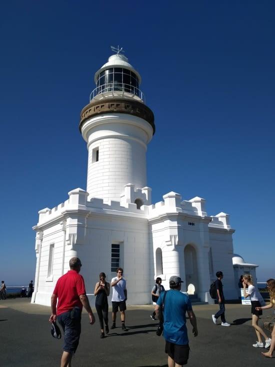 Le phare, point d'arrivée de l'ascension
