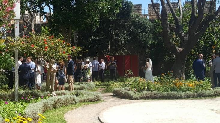 TAVIRA, et quand tu visites le jardin du chateau fort et que tu tombes sur un mariage