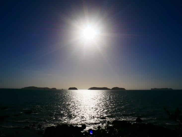 Le soleil est de plus en plus bas