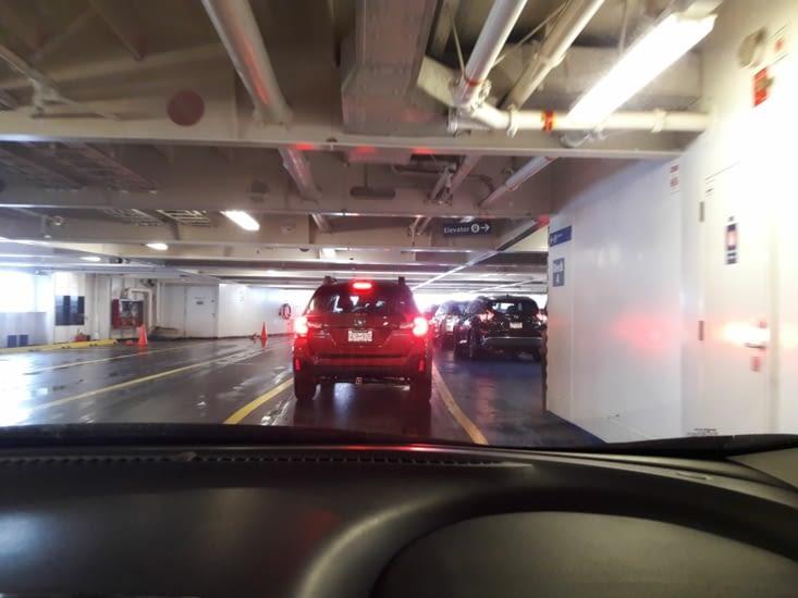 Embarquement sur le ferry